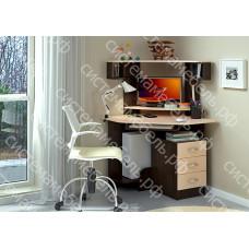 Стол компьютерный КС 29 - Венге/Дуб молочный