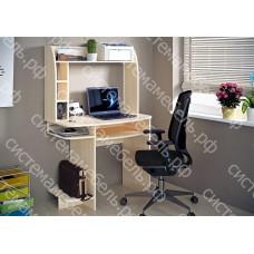 Стол компьютерный КС 4 - Дуб молочный